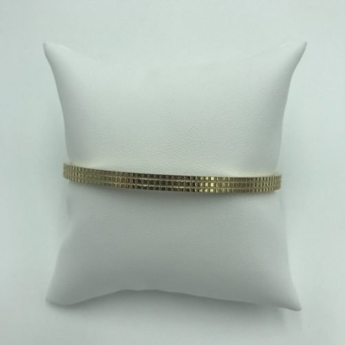 vista frontal pulsera bangle small