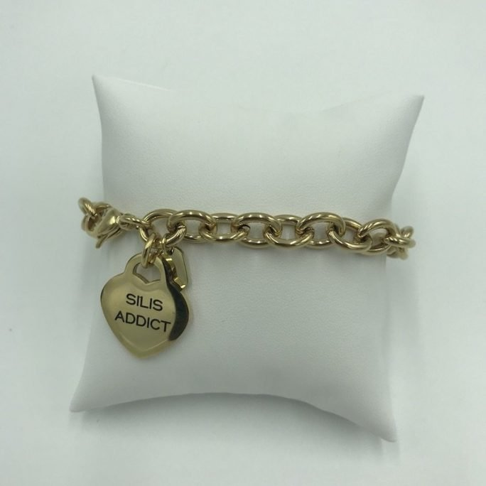 vista frontal pulsera chain